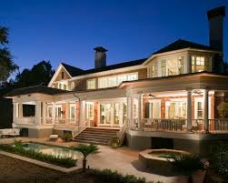Porches  Back porches and Porch designs on PinterestNice collection of low rooflines  perfect porch lines if we squeezed the breakfast nook left and removed a large part of the porch line to the left of the