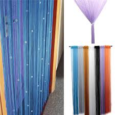 hot sale romantic beads design beaded crystal curtain string door window curtain divider partition tassel decoration 100x200cm office partition designs