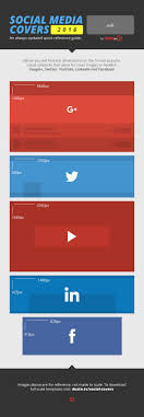 social media cover photo templates for the most popular networks social media cover photo templates infographic