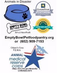 Empty Bowl Pet Food Pantry