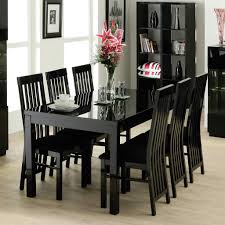 black kitchen dining sets: dining roomsimple black dining room furniture sets with fruits centerpiece ideas charming black dining