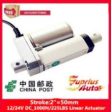 <b>Waterproof 12V 300mm 12</b> inch adjustable stroke 3500N 770LBS ...