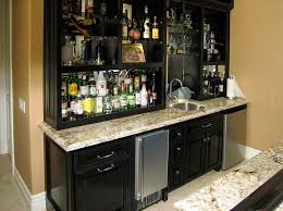 graceful kitchen bar cabinet ideas