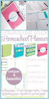 ultimate homeschool unit study planner ultimate homeschool unit study planner comparing two different lesson planning pages tinas dynamic homeschool
