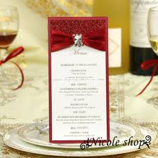 dinner invitation cards promotion shop for promotional dinner table menu card high end dinner noble evening reception custom wedding invitation card seat supplies luxury business