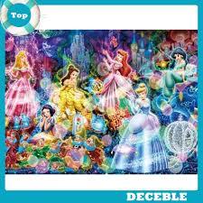 [Deble] <b>5D DIY</b> Full Drill <b>Diamond</b> Painting Princess Cross Stitch ...