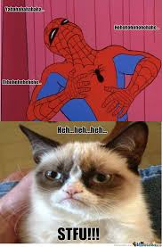 Spiderman Laugh by dj-speedy - Meme Center via Relatably.com