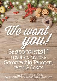 recruitment agency news taunton somerset recruitment news jobs seasonal jobs available now monday 21st nov 2016