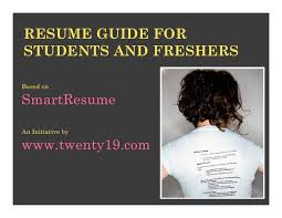 Astonishing How To Write A Resume For A Fresher   Brefash