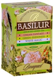 <b>Чай</b> зеленый <b>Basilur</b> Bouquet <b>Assorted</b> green <b>tea ассорти</b> в ...