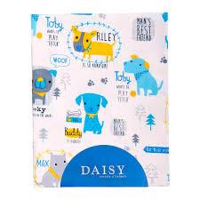 <b>Пеленка Daisy фланель</b> Собачки 90*145 2 шт (1002003805 ...