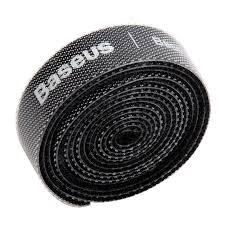 <b>Baseus Circle Velcro</b> Strap Cable Organizer Black USB Accessories ...