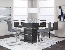 Gamma <b>Five Piece</b> Counter Height <b>Dining Set</b> | Walker Furniture ...