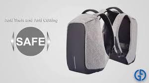 Anti-Theft USB Charging <b>Travel</b> Laptop <b>Backpack</b> - YouTube