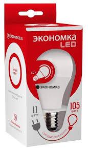 <b>Лампа</b> светодиодная <b>Экономка LED</b> 11W A60 E2745, <b>E27</b>, A60 ...