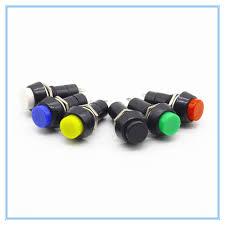 12mm Plastic Push <b>Button Switch Self</b> locking / Momentary Switchs ...