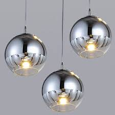 <b>Nordic glass pendant lights</b> 15 20 25 30cm glass hanging ...