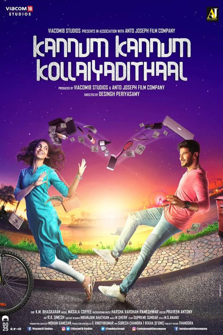 Download Kannum Kannum Kollaiyadithaal (2020) Hindi Dubbed Full Movie 480p | 720p