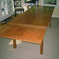 Custom Made Dining Room Furniture Extension Replica Carl Hanson Sh900 Dining Table Extension Part 4