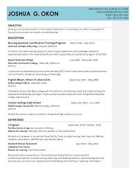 cna resume examples com cna resume examples to inspire you how to create a good resume 19