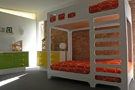 dallas tx brian and katherine 1950s gender neutral kids room idea in dallas with white walls designer bunk beds bedroom kids designs bunk