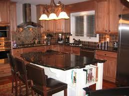 Kitchen Islands With Granite Countertops Kitchen Room Designer Custom Gray Granite Countertops Two Lamp