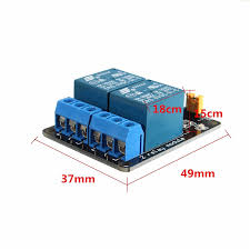 Aliexpress.com : Buy Hot Sale <b>5V 2 Channel Relay</b> Module PLC ...