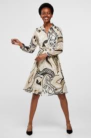 <b>Printed chiffon dress</b> | <b>Dresses</b> and jumpsuits | Cortefiel Man & <b>Woman</b>
