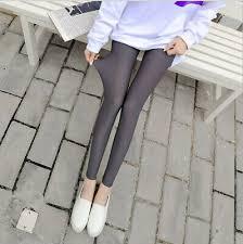 WOMEN Ultra-thin Cropped Trousers <b>Ice Silk</b> Leggings <b>Summer</b> Hot ...
