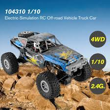 WLtoys <b>104310 1/10</b> 2.4G <b>Electric</b> Simulation RC Off-road Truck Car ...