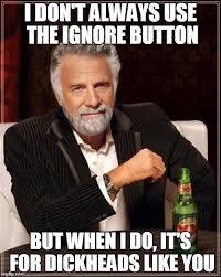 Bildergebnis für Ignore button