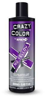 Crazy Color <b>оттеночный шампунь</b> No Yellow для <b>поддержания</b> ...