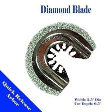 Diamond 2.5 Semi Round <b>Quick Release</b> Universal Fit <b>Multi Tool</b> ...
