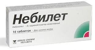 <b>Небилет</b> таблетки <b>5 мг</b> № <b>14</b> в Нур-Султане | Цена, инструкция ...
