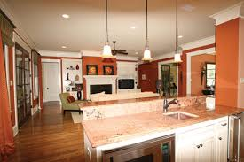 One Story Homes  One story Living   House Plans and MoreCountry Home Dining Room