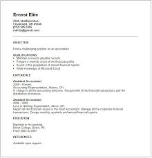 accounting resume examples and career advicejunior accountant resume example