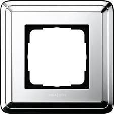 Купите 211641 - Gira ClassiX <b>Рамка на 1</b> пост, хром - 2 712,60 руб.