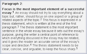 step   write the middle paragraphs   the learning centre – online    analysis