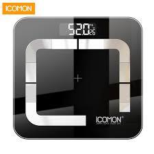 Original <b>iCOMON</b> i31 Smart Bathroom weight Scale Digital <b>Body</b> Fat ...