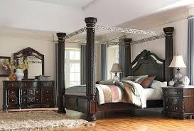 post king size bedroom set