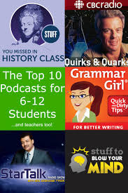 the top podcasts for middle school and high school students 65c902b2222192dd0a0e49aef093de36 jpg