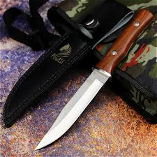 PEGASI Japanese <b>outdoor straight</b> knife fishing knife jungle hunting ...