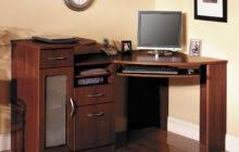 brown lacquered mahogany wood corner computer desk which completed with keyboard tray awesome black painted mahogany