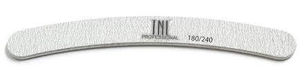 TNL PROFESSIONAL <b>Пилка бумеранг для</b> ногтей 180/240, серая ...