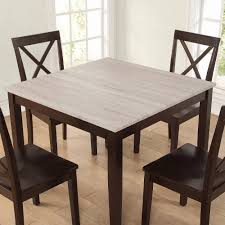 Chippendale Dining Room Table Dorel Living Hillside Rustic Piece Dining Set Rustic Wood Espresso