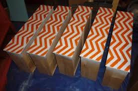chevron pattern on drawers chevron painted furniture