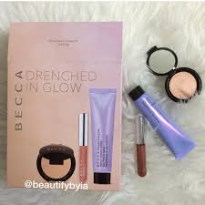 [READY STOCK] Authentic <b>BECCA Drenched in Glow</b> Kit LIMITED ...