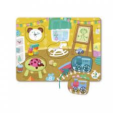 <b>Пазл</b>-<b>сортер</b> Детская комната (5 элементов) <b>Dodo</b> — купить в ...
