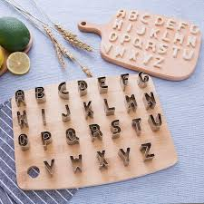 top 8 most popular <b>26 english letter cookie</b> cutter brands and get ...