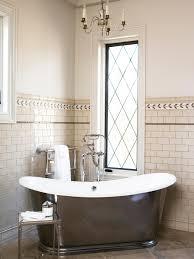 chandelier small bathroom